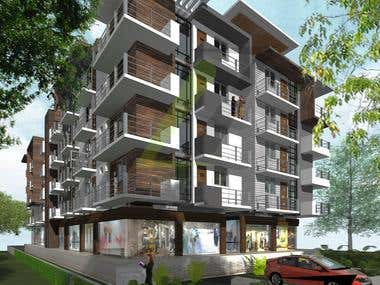 Apartment Building , country: India