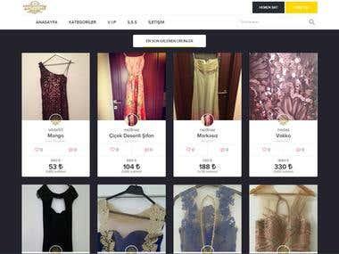 Php E- Commerce website