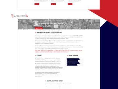 Transport Company Website