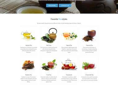 Organic Tea Online Store