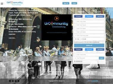 UrCommunity TimeBanking Portal Cum Website