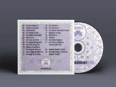 CD y Cover para marca Mishka CHB