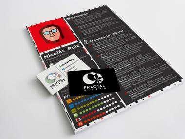 Tarjeta personal y curriculum vitae