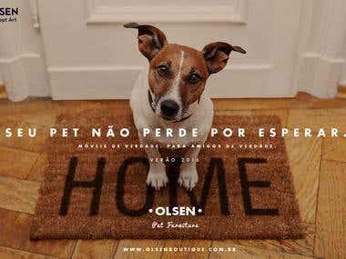 Olsen Print Ad