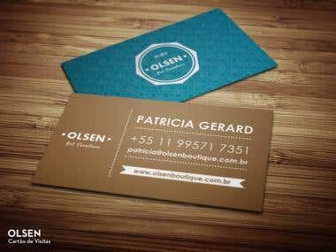 Olsen Business Card