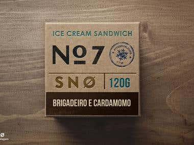 Snø Ice Cream Sandwich
