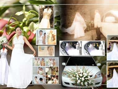 Wedding Album Layout Samples