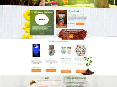 ECOMMERCE PSD TO HTML
