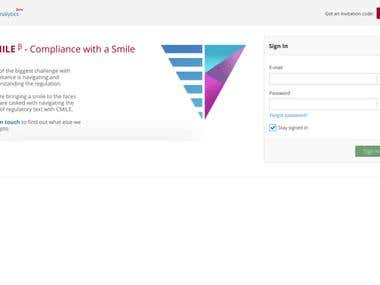 CoVi Analytics - Regulatory Text Navigation Platform