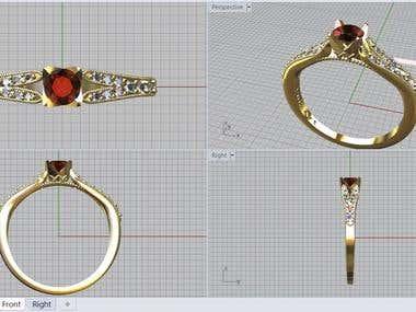 jewellary cad designs