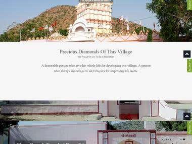 A village portal