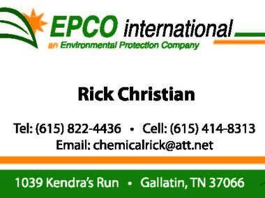Business Card Design - Rick Christian