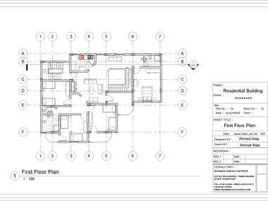 Residential Building - Autodesk Revit
