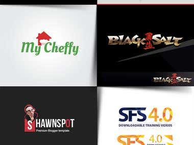 LOGO DESIGNS - @CREATIVE