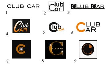 Logos for ClubCar