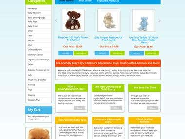 Comfybaby Magento Ecommerce Website
