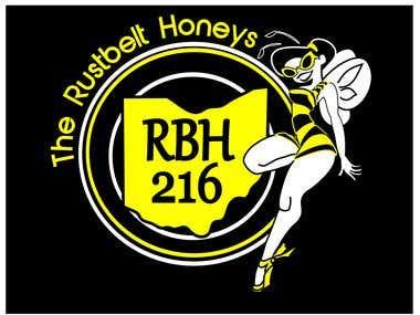 Rustbelt Honeys T Shirt Design Logo