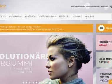 Magento work on BeautyFlair