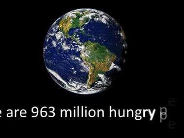 Flash Animation - Erase World Hunger