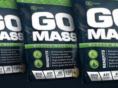 Go Mass Muscle Mass Gainer