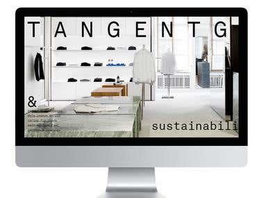 """Website """"Tangent"""""""