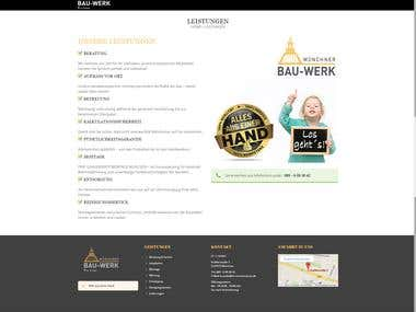 We have created a hWordpress CMS with responsive Design