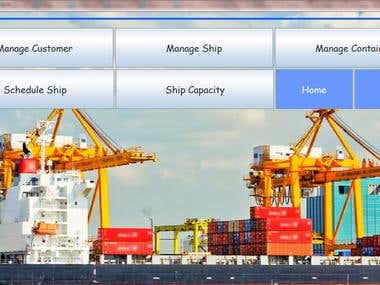 Ships Management Application