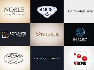Various logos I designed