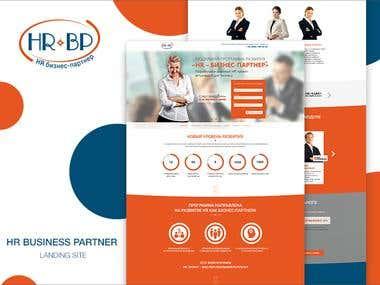 HR Parthner Landing page