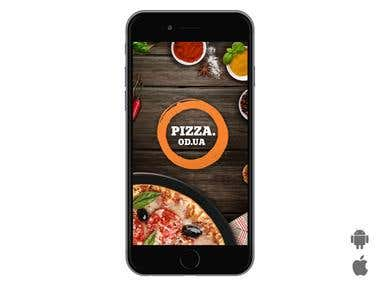"Mobile App ""Pizza.od.ua"""