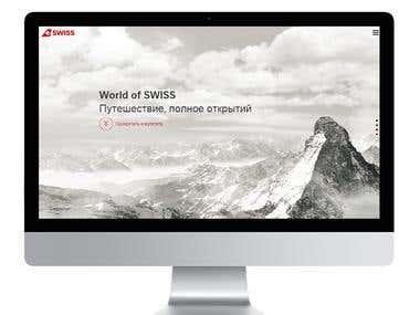 "Website ""Swiss"""