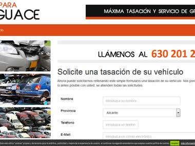Cochespara Desguace - Solicite una tasación de su vehículo
