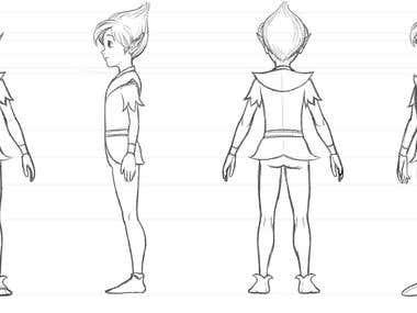 turnaround character