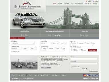 Car hire website