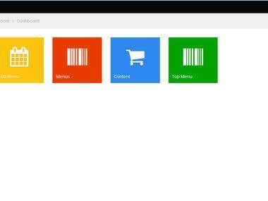 custom Admin panel (core php)