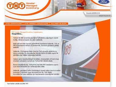 TNT VMI Intranet Site