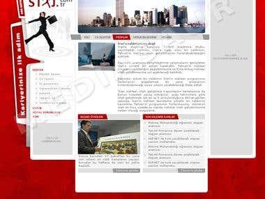 Staj.com.tr Web Site Draft