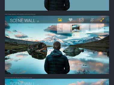 Concept Design - Scene Wall