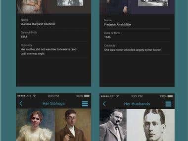 App Design - Agatha Christie