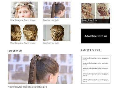 Hair style blog