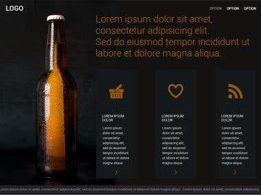 Design - Beer Teaser