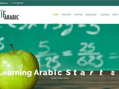 Language Teaching Website