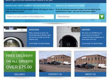 Professional Magento website with WordPress integration