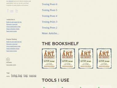 WordPress website with custom plug-ins
