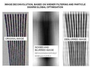 Deconvolution Processing of the Images