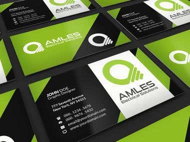 100% Free Business card design!