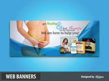 Web Banner/Header Design