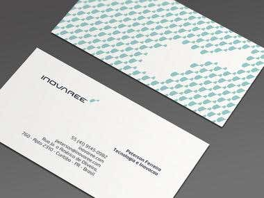 INOVAREE Business Card Design
