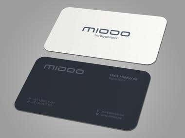 MIDDO Business Card Design