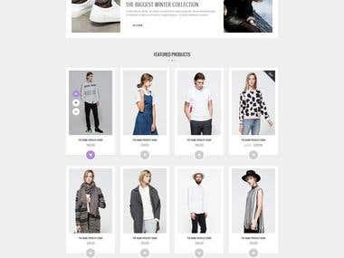 ALEXX - eCommerce Website